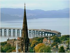 Dundee and the Tay Rail Bridge by eric niven on 500px