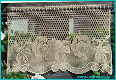 View album on Yandex. Crochet Boarders, Crochet Lace Edging, Crochet Doily Patterns, Crochet Art, Crochet Home, Crochet Doilies, Irish Crochet, Crochet Curtains, Lace Curtains
