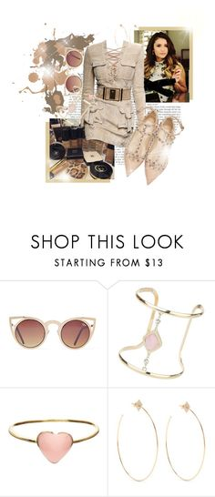 """""""The closer I get to you, the more I feel like dying."""" by brook-s18 ❤ liked on Polyvore featuring Balmain, Miss Selfridge, Orelia, Diane Kordas, Valentino and NinaDobrev"""