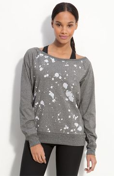 Much cuter than the average zip up or hoodie and it can go from the gym to lounging  #amyesperstyling