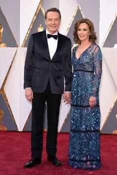 Pharrell Williams and Helen Lasichanh on the Oscars 2016 Red Carpet