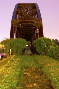 The Old Rock Island Railroad Bridge