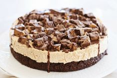 Deep Dish Peanut Butter Cheesecake Brownies