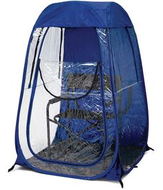Under The Weather Personal Pop-Up Sports Tent - I've been saying that this should be invented for years.  :-)