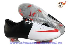 Mercurial pas cher Vapor VIII FG Cristiano Ronaldo Blanc Noir Rouge FT7980