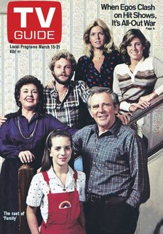 March 15 Meredith Baxter-Birney, James Broderik, Quinn Cummings, Gary Frank Kristy McNichol and Sada Thompson ( Family) Kristy Mcnichol, Clash On, Abc Family, Old Shows, Vintage Tv, Vintage Antiques, Tv Land, Television Program, Great Tv Shows