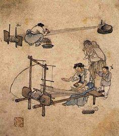 Danwon (Korean: 1745-1806) - Weaving