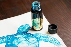 Looking for sheen? Ink up with Robert Oster Bondi Blue a try.
