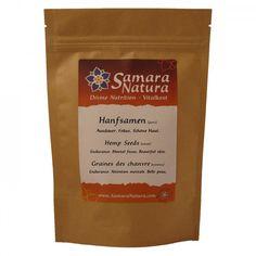 Hanfsamen ganz Samara, Nutrition, Cacao Powder, Calories, Superfoods, Natural, Pure Products, Coffee, Drinks