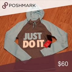 ✨Just Do It✨ Nike pullover hoodie sz S New with tags! Price is firm! Nike Tops Sweatshirts & Hoodies