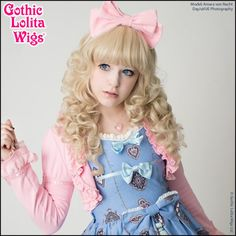 Gothic Lolita Wigs®  Lady Amara™ Collection - Blonde