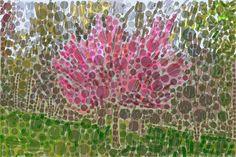Andrea Mora title: Early Springtime No.6 (2015) original size: 150 x 100 cm digital painting