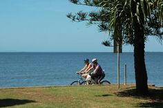 Clontarf Redcliffe Walk Or Cycle Saint Helena Island, St Helena, Margate Beach, Things To Do In Brisbane, Red Sand Beach, Great Walks, Bike Path, Waterfront Property, Real Estate Services
