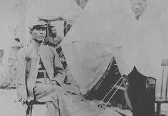 Apolinario Mabini sits outside his tent in Guam 1902 Jose Rizal, Filipiniana, History Photos, Guam, Vintage Pictures, Filipino, View Photos, Philippines, Fun Facts