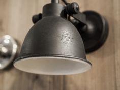 Wandlamp Mila antiek zwart
