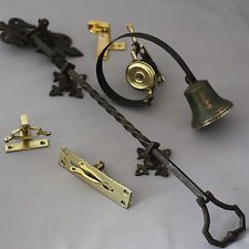 Victorian Front Door Bell Pull and Bell & Door Bells : Black Country Metalworks Ltd   All I want is a room ... pezcame.com