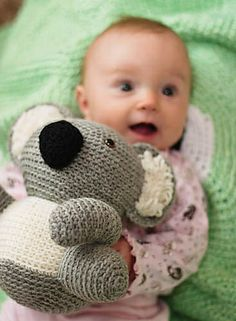 Ravelry: Ricky the Kutie Koala pattern by Stacey Trock