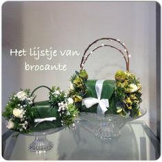 My homemade flower bags...