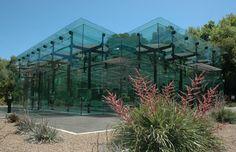 Amazon waterlily pavilion, Botanic gardens of Adelaide by flightpath architects.
