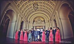 The wedding party, waiting for the beautiful bride!! @ Pasadena City Hall, CA