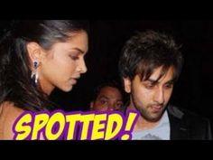 TV BREAKING NEWS Deepika Padukone SPOTTED with Ranbir Kapoor ...