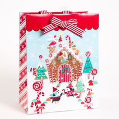 Winter Wonderland Large Gift Bag Price $7.95
