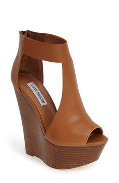 Steve Madden 'Gunnther' Platform Wedge Sandal (Women) available at #Nordstrom
