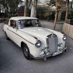 Classic Coupe #Mercedes-Benz #Mercedes #Coupe #W180II #Ponton...