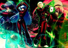 Wallpaper Kula and Ash KOF XIII by GothicYola on DeviantArt