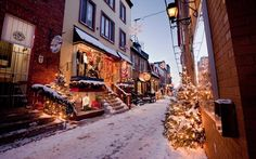 This Neighborhood in Canada Looks Like Something Straight Out of a Holiday Movie | Travel + Leisure