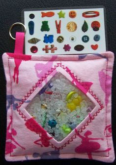 I Spy Treasure Bag - Ballerina / Perfect for the plane ride, long car rides or even dr appt waits