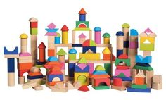 awesome blocks- if only we had the space for this many!