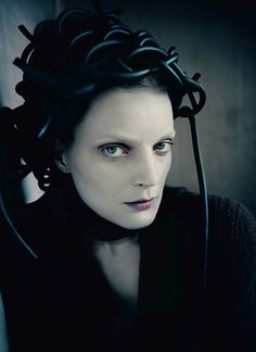 Guinevere van Seenus by Paolo Roversi for Dazed Fall 2014