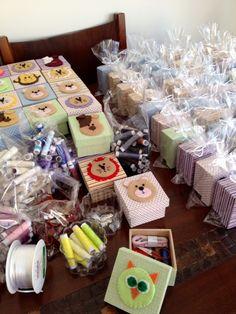 Montagem das mini caixinhas de costura  - luparreira Lu.parreira@uol.com.br