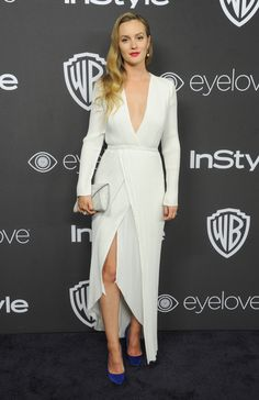 Golden Globes 2017 After-Party Fashion Party Fashion, High Fashion, Golden Globes After Party, Leighton Meester, Glamour, Party Looks, Red Carpet Looks, Her Style, Dress To Impress
