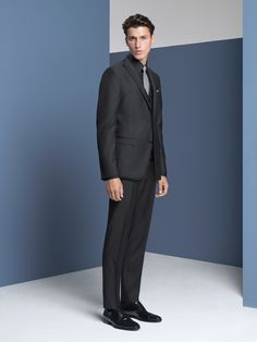 Suit Man Wool Black 2016 - 2016 Formalwear | CC Collection Corneliani