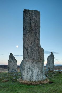 The Callanish Stones Site is in the charge of Historic Scotland. Calanais is Gaelic for Callanish - originally it was actually called Callernish - or previous to this Classerniss. The Isle of Lewis affords one of the most complete historic stone circles in Europe.