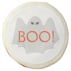 Halloween Ghost Sugar Cookie - halloween decor diy cyo personalize unique party