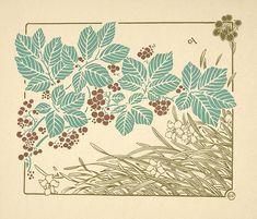 Maurice Pillard-Verneuil (1869-1942) diseñador en diversas disciplinas. Cierta inspiración de arte japones.
