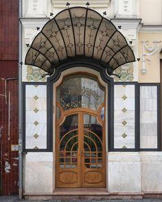 Next Door, Architecture Details, Art Nouveau, Lunch, Windows, Doors, Cool Stuff, Business, Building
