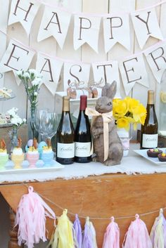Easter Sunday Brunch Table - My Thirty Spot