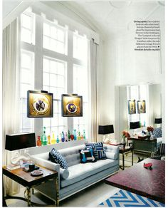 Jonathan Adler Design  Repin Via Erica Zontho #modern #zincdoor # Jonathanadler Colourful