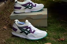 919e20a0d2a4 Asics Gel Lyte V OG White Purple Teal. asicsforsale · Asics Gel Lyte V Mens  Running Shoes