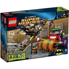 LEGO Super Heroes Batman: Gotham City Cycle Chase, 76053 - Walmart.com