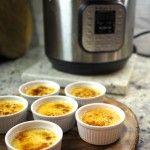 Healthier creme brûlée