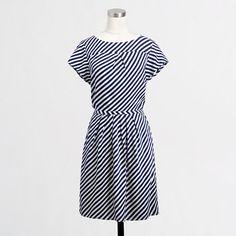 Factory stripe pocket dress/