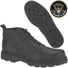 Altama Black Basic work Boot 9225