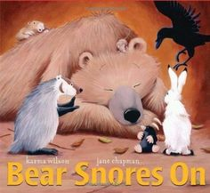 This 6 page comprehension packet aligns with Karma Wilson's sweet winter tale,  Bear Snores On.  The packet includes 15 questions with visual support and choices, the questions without visual support (open ended for higher readers), a sequencing activity and story elements with and without visuals.