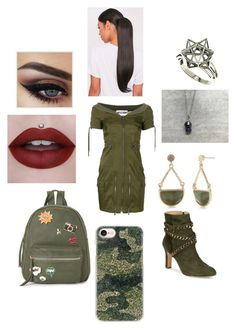 """""""#113"""" by sky36866 ❤ liked on Polyvore featuring Schutz, Moschino, IMoshion, Casetify, New Directions and John Brevard"""