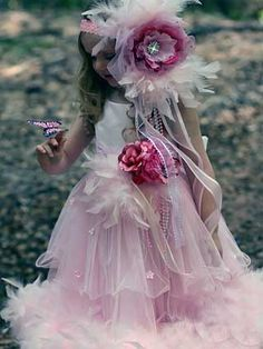 #53393   feathered dress
